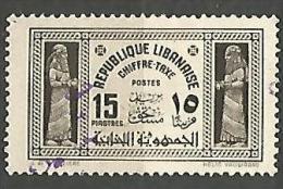 GRAND LIBAN TAXE  N° 36 OBL - Gran Libano (1924-1945)