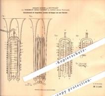 Original Patent - F.A. Schmidt In Adorf , Voigtland , 1880 , Blasinstrument , Trompete , Trumpet , Tuba , Posaune !!! - Musikinstrumente