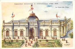 """Liège Expo 1905 - Propriété Du Journal Officiel """"""""Liège-Exposition"""""""" - Luik"""