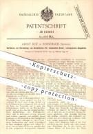 Original Patent - Adolf Hoz In Rorschach , Schweiz , 1899 , Herstellung Von Druckfarben Für Chemischen Druck , Farbe !!! - Documents Historiques