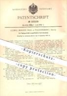 Original Patent - Ludwig Morten Friis , Frederiksberg , Dänemark , 1906, Als Vorlegeschloss Ausgebildetes Fahrradschloss - Dänemark