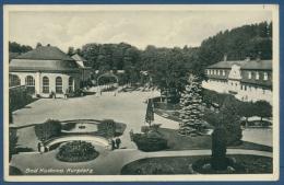 Bad Kudowa Kurplatz, Gelaufen 1934 (AK403) - Schlesien