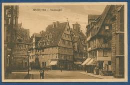 Hannover Marktstraße Fahrradhandlung Stavers U. A., Gelaufen 1927 (AK407) - Hannover