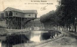 54 Le Canal à MAXEVILLE Carte Précurseur - Maxeville