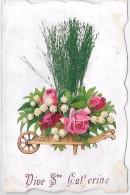 PRENOM - CATHERINE - Roses Et Muguet - Prénoms