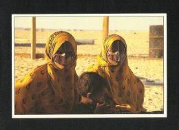 Oman Picture Postcard Village Women View Card - Oman