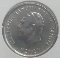 SAMOA 5 SENE 2002 PICK KM131 UNC