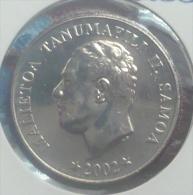 SAMOA 10 SENE 2002 PICK KM132 UNC