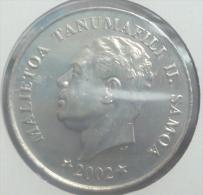 SAMOA 50 SENE 2002 PICK KM134 UNC