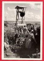 Helgoland. Carte-photo. Bochumer Gußstahlglocke. 1944-45 - Helgoland