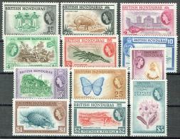 Britisch-Honduras 1953 Königin Elisabeth Michel N° 141-152 MH/MNH - British Honduras (...-1970)