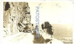 15312 ARGENTINA CATAMARCA TINOGASTA CAMINO ROAD & AUTOMOBILE CAR PHOTO NO POSTAL POSTCARD - Vieux Papiers