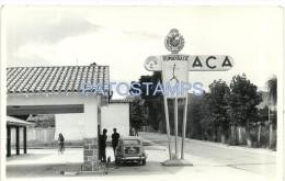 15324 ARGENTINA JUJUY HUMAHUACA ESTACION DE SERVICIO ACA YEAR 1963 14 X 9 CM BREAK PHOTO NO POSTAL POSTCARD - Vieux Papiers