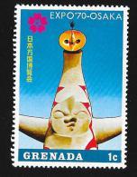 GRENADA - Scott #366 World Fair, Osaka '70 / Mint NH Stamp - 1970 – Osaka (Japan)