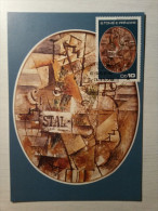 S. TOME E PRINCIPE - CARTE Georges Braque - Essen 1978. - Moderni