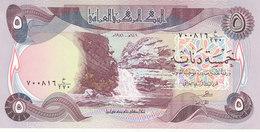 IRAQ 5 DINARS 1981 P-70 UNC */*