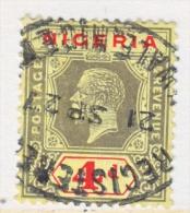 BRITISH  NIGERIA  6   (o) - Nigeria (...-1960)