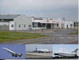 United Kingdom Airport - Aérodrome - Manston (aka Kent's Interantional Airport) + Concorde & Space Shuttle - Aerodrome