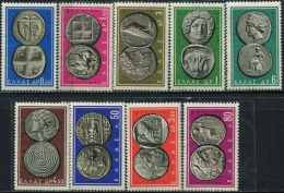 GR0227 Greece 1959 Ancient Coins 9v MNH - Greece