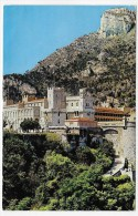 (RECTO / VERSO) MONACO - PALAIS PRINCIER - CARTE FORMAT CPA TAXEE - Prince's Palace