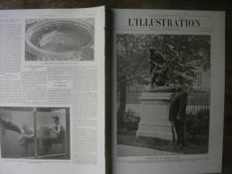 L'ILLUSTRATION 3688 PEGOUD/ CANAL PANAMA/ ZEPPELIN/ CORRIDA  1 Er NOVEMBRE 1913 - Journaux - Quotidiens