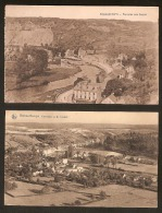 """HOUYOUX 2 Postkaarten Van """" REMOUCHAMPS """" PANORAMA VU DE SOUGNE (zie 2 Scans) ! Inzet Aan 10 € ! - 1922-1927 Houyoux"""