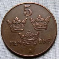 SWEDEN 1931 - 5 ORE - Sweden
