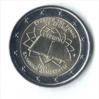 ** 2 EUROS COMMEMORATIVE GRECE 2007 PIECE NEUVE ** - Greece