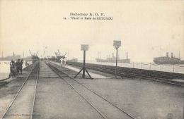 Dahomey A.O.F. - Wharf Et Rade De Cotonou - Collection Géo Wolber - Carte Non Circulée - Dahomey