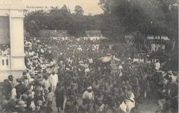Dahomey A.O.F. - Un 14 Juillet à Porto-Novo - Collection Géo Wolber - Carte Non Circulée - Dahomey