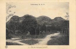 Dahomey A.O.F. - Une Des Montagnes De Savé - Carte Non Circulée - Dahomey