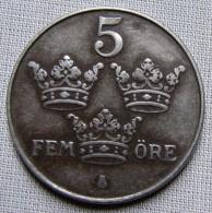 SWEDEN 1948 - 5 ORE - IRON - Sweden