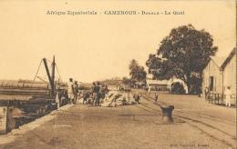 Afrique Equatoriale - Cameroun - Douala - Le Quai - Edition Tabourel - Carte Non Circulée - Cameroon