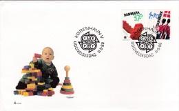 Europa CEPT FDC 1989 Denmark (G56-76) - 1989
