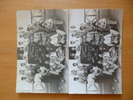 2 Cartes Photo Identiques Aviation Militaire  37 ème D´aviation 1927 Casablanca.Identification Sur Photos Et Texte Dos - Regimenten