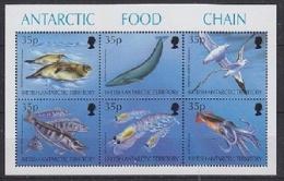 British Antarctic Territory 1994 Antarctic Food Chain M/s ** Mnh (23965C) - Ongebruikt