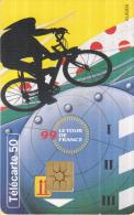 Telefoonkaart - Frankrijk - France Telecom – Télecarte 50 - Tour De France 99 - 3 - 25 Juli 1999 - Sport