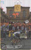 Telefoonkaart - Frankrijk - France Telecom – Télecarte 50 - Tour De France 2001 - 7 - 29 Juli 2001 - Sport