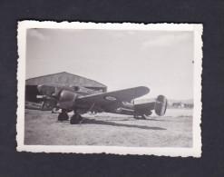 Photo originale - Aviation - Guerre 1939-1945 -  Avion � identifier Potez ?   ( Arm�e de l'Air AFN  Setif Jean Weill  )