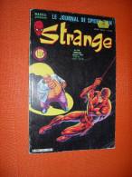 Strange - Marvel - Le Journal De Spider-Man - Mensuel N° 169  De Novembre 1984 - Strange