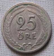 SWEDEN 1941G - 25 ORE - Sweden
