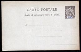 A3269) Franz. Kongo Congo Francais Karte Ungebraucht Unused - Französisch-Kongo (1891-1960)