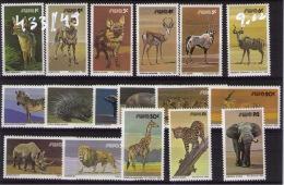 SOUTH-WEST AFRICA Animals - Briefmarken