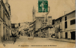 16 ANGOULEME ST AUSONE ROUTE DE BORDEAUX 27 - Angouleme