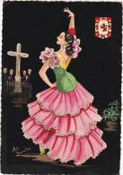 """España--Cordoba--1959--Andalucia,Folklore  """" Elsi Jumip""""--Fechador--La Junquera -a , Auscerre , Francia - Vestuarios"""