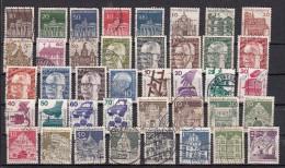 RFA  Lot De 64 Timbres Différents Avant 1980 Principalement - [7] République Fédérale