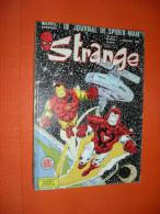Strange - Marvel - Le Journal De Spider-Man   - Mensuel N° 221   De 1988 - Strange