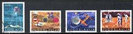 YOUGOSLAVIE. N°1295 & 1297-9 Oblitérés De 1971. Espace. - Space