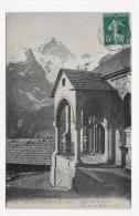 (RECTO / VERSO) LA GRAVE EN 1910 - N° 543 - EGLISE DES TERRASSES - BEAU CACHET HOTEL DE LA MEIJE JUGE FRERES - Autres Communes