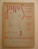Revue Littéraire Français/Anglais - Directeurs Elliott Stein, Daniel Mauroc - JANUS No 2 Avril 1950 - Illu. J. Boullet - Livres, BD, Revues